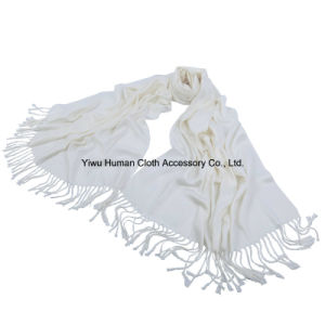 Fashion 100% Pashmina Solid Long Scarf Wholesale pictures & photos
