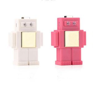 6000mAh Universal Charger Robot Mobile Power Fast Power Bank pictures & photos