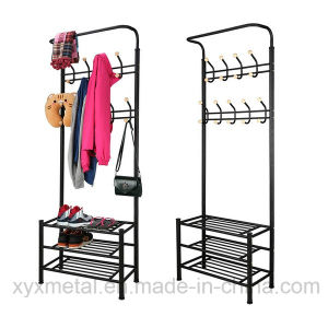 Metal Shoe Rack Bag Clothes Garment Stand Coat Rack pictures & photos