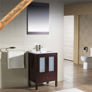 Integrated Basin Cheap Modern Bathroom Cabinets pictures & photos