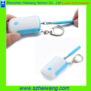 Emergency Panic Personal Alarm with Keychain LED Light for Lady Children pictures & photos