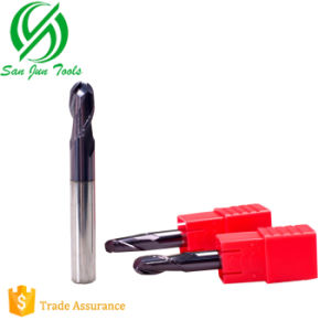 Suzhou Tungsten Solid Carbide Ball Nose End Mill for Wood pictures & photos
