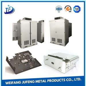Laser Cutting Steel Plate Sheet Metal Stamping Parts with Electroplating Service pictures & photos