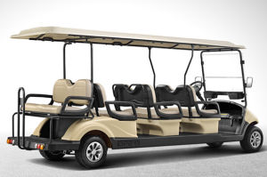 Battery Operated 8 Passengers Electric Golf Buggy From China pictures & photos