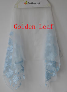Laser Embroidry/3D Embroidery/Satin Fabric/Voile Lace Fabric Factory Directly Garments (JG017)