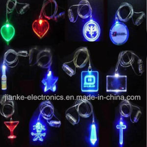 LED Flashing Christmas Light Necklace with Logo Print (2001) pictures & photos