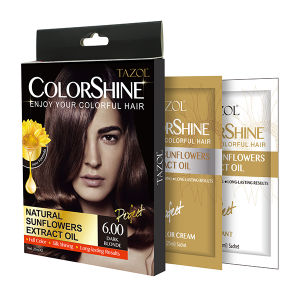 New Promotion 10 Minutes Fast Dye Hair Color Cream 25ml*2 pictures & photos
