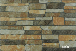 Ceramic Rustic Stone Exterior Wall Tile for Decoration (333X500mm)