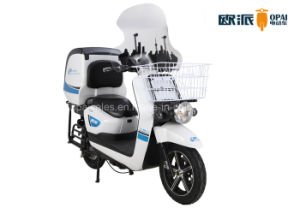 Electric Motorcycle Fastfood Delivery Electric Scooter Big Rear Box pictures & photos