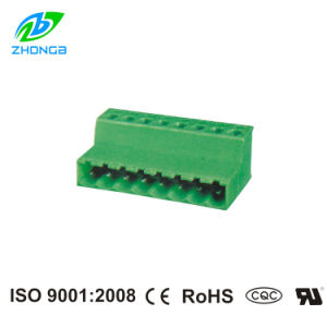 90degree Female Plug-in Terminal Block (ZB2EDGRK) Pitch 5.08mm Manufacturer/Exporter/Supplier