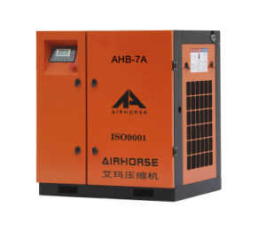 Air Cooling Screw Air Compressor 7HP for Sale pictures & photos