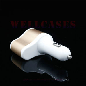 Wholesale Cigarette Lighter Hub Dual USB Car Charger for Cellphone pictures & photos