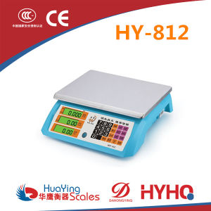 Hot Selling Electronic Balance Scale Huaying Hy-812 pictures & photos