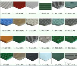 PVC Conveyor Belt, PVC Flat Belt, PVC Transmission Belt pictures & photos