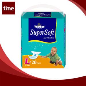 Grade a Super Absorbent Cotton Yoursun Baby Diaper pictures & photos