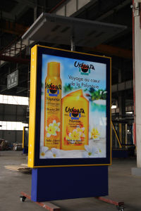 Aluminum Frame Solar Powered Advertising Light Box pictures & photos