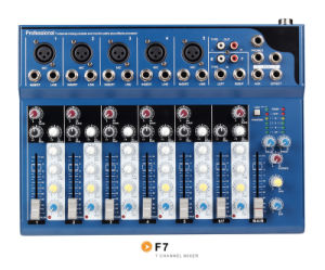 Mixer/Soud Mixer/Professional Mixer /Console/Sound Console/Brand Mixer /Mixing Console/F7 pictures & photos