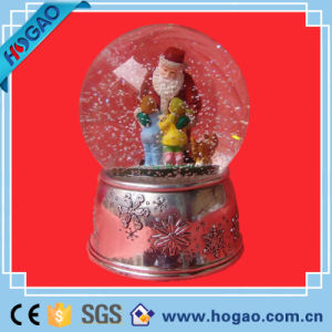 ~Santa Claus with One Kid & World Globe~Ceramic Christmas Decor Cute pictures & photos