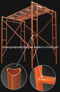 Guangzhou Manufacturer All-Around Frame Scaffolding for Construction pictures & photos