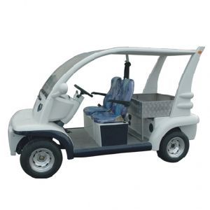 Street Legal Electric Cart with Rear Cargo Box, Eg6043kr-01 pictures & photos