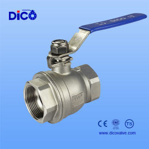 Stainless Steel Reduce Bore 2PC Ball Valve pictures & photos