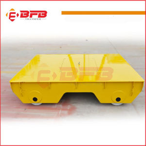 Battery Operated Heavy Industrial Die Transfer Trolley on Rails pictures & photos