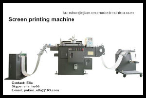 Roll to Roll Automatic Slik Screen Printing Machine (JJ320) pictures & photos