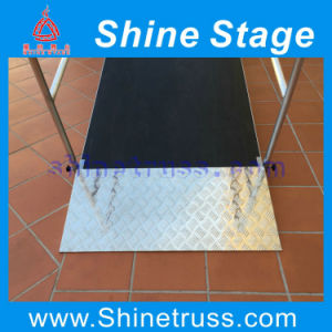 Aluminum Portable Stage with Wheelchair Ramp Stage Ramp pictures & photos