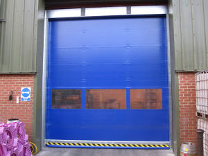 PVC High Speed Door for Cold Storage and Freezer Applications (HF-1038) pictures & photos