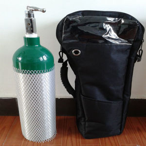 Aluminum Oxygen Tank with Qf-2 Valve High Pressure pictures & photos