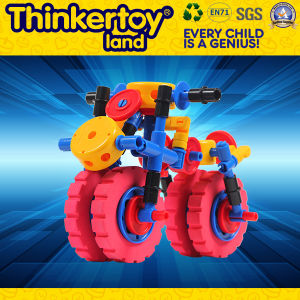 Educational Building Block Car Toy for 3+ Children pictures & photos