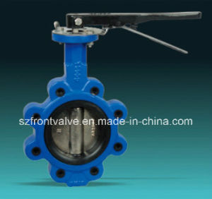 Cast Iron/Ductile Iron Wafer Type Butterfly Valve pictures & photos