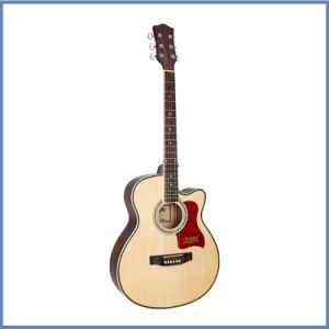 High Quality Solid Acoustic Guitar pictures & photos