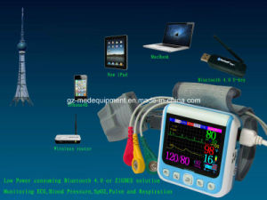 0.13kg Hand Held Home Care Wrist Home Use Portable Patient Monitor pictures & photos