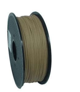 1.75mm Wood Filament for 3D Printer with PLA Plus Wood Powder pictures & photos