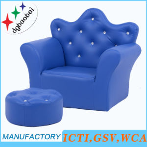 Crown Buckle Luxury Baby Furniture and Ottoman (SXBB-17-02) pictures & photos