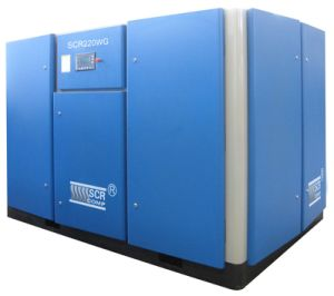 Oil Free/ Oil Less Screw Air Compressor (SCR340WG) pictures & photos
