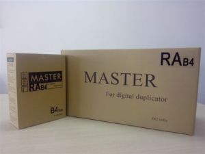 Compatiable Riso Duplicator Master Roll Ra/RC B4 Used in Ra300/500/4900/5800/5900 RC33/55/300/500/4000/4200 pictures & photos