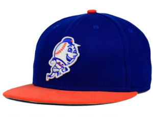 Fashion Design Blue and Orange New Sports Snapback Cap pictures & photos