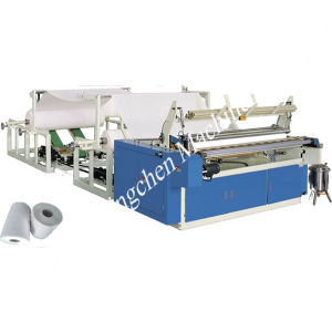 Equipments for Paper Converting Section 1880mm Toilet Paper Rewinding Machine pictures & photos