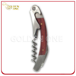 Promotion Gift Firm Wooden Handle Wine Corkscrew pictures & photos