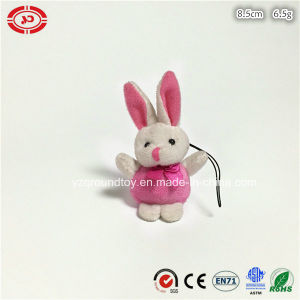 Plush Tiny Soft Cute Rabbit Custom En71 Toy Keychain pictures & photos