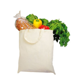 Natural 100% Cotton Shopping Cotton Bag pictures & photos