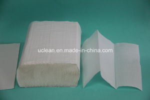 Virgin Material Mutifold Hand Paper Towel (N fold) pictures & photos