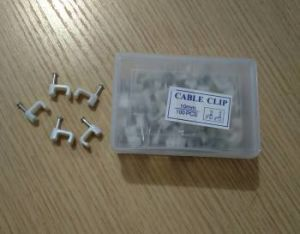 Plastic Flat Nail Cable Clip for Electrical Wire pictures & photos