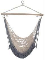 Rope Hammock Chair, Hanging Cotton Hammock Chair, Garden Hammock Chair, Camping Hammock Chair Comfortable