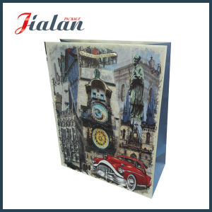 Luxure Wholesales Colorful Cheap Custom Logo UV Printing Paper Bags pictures & photos