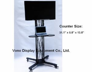 "Exhibition Display Stand Trade Show Products 17"" to 65′ Plasma or LCD Television Stand"