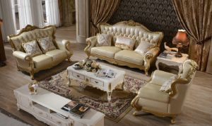 2015 Newest European French Style Classic Sofa pictures & photos