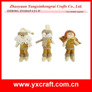 Christmas Decoration (ZY11S117-1-2-3) Christmas Stuffed Gift Item pictures & photos